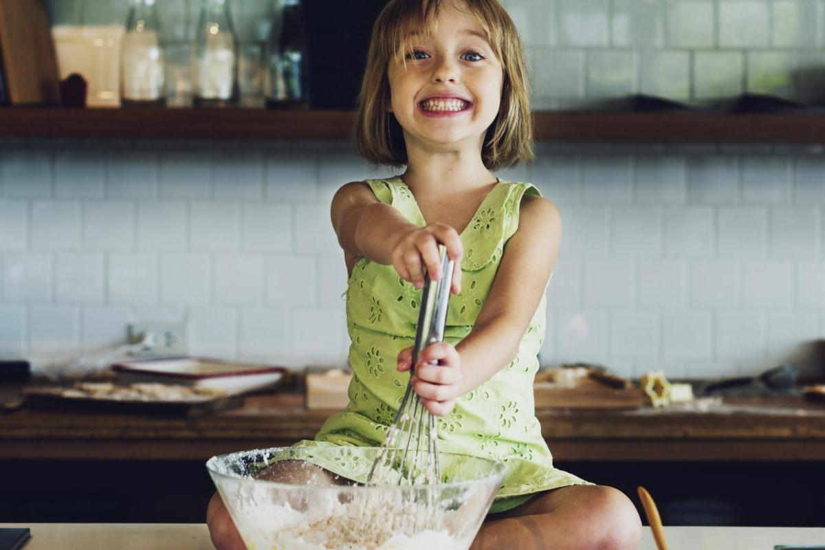 Couper les fruits et légumes, un jeu d'enfants !