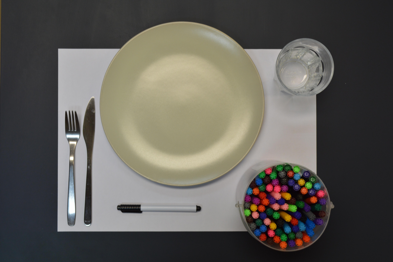 kit matériel activité set de table