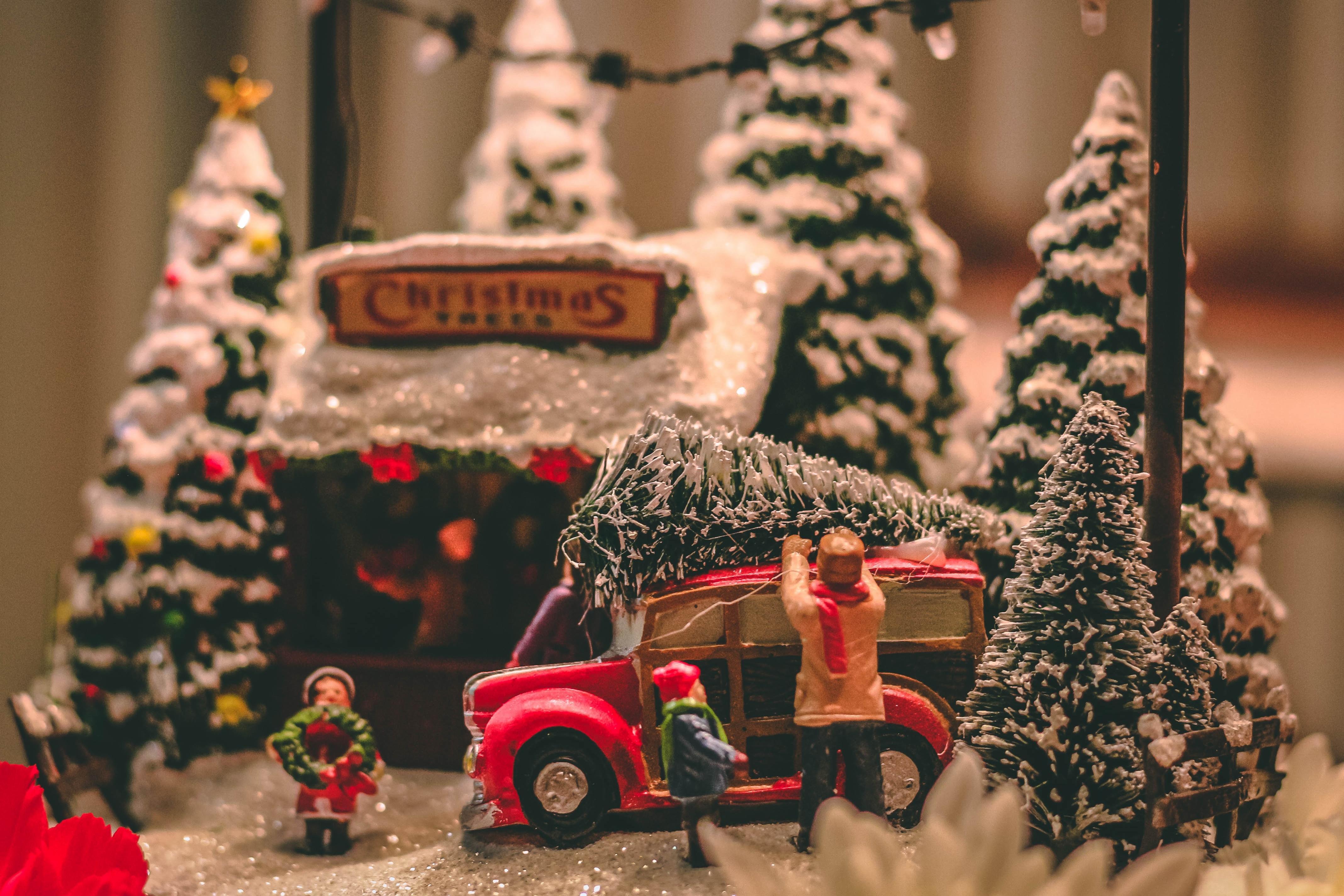 Sapin de Noël 3D, original et écolo