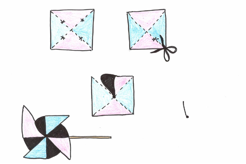 réaliser un moulin à vent