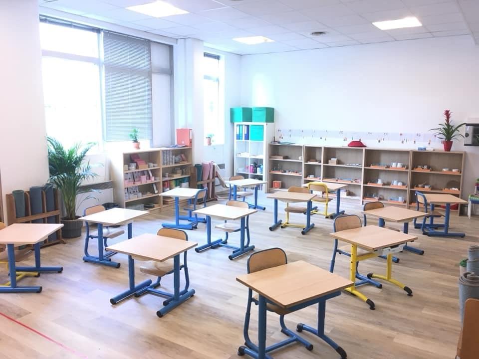 salle de classe de l'école Prunelle